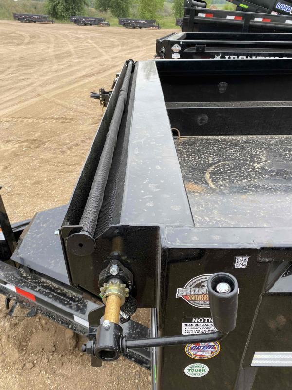 2021 Iron Bull 83X16 TA7K Dump Trailer