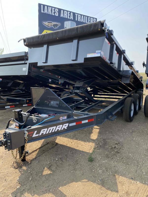 2021 Lamar Trailers 83X16  21K Dump Trailer