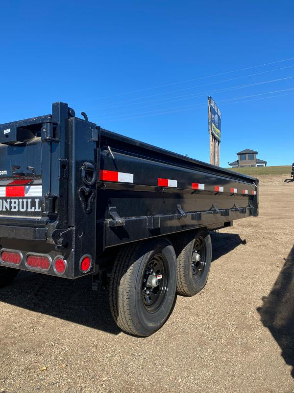 2021 Iron Bull 96X14 TA DUMP DECK-OVER Dump Trailer