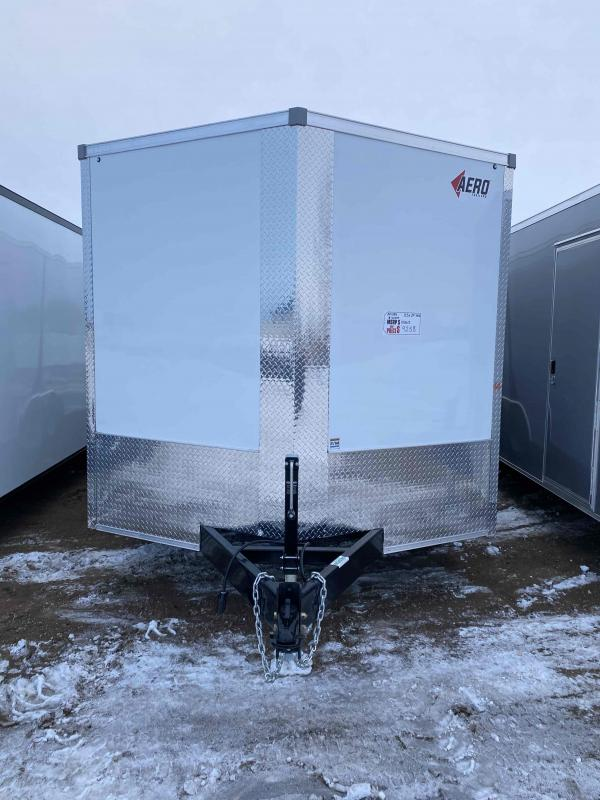 2021 AERO 8.5X24TA52 WHITE Enclosed Cargo Trailer