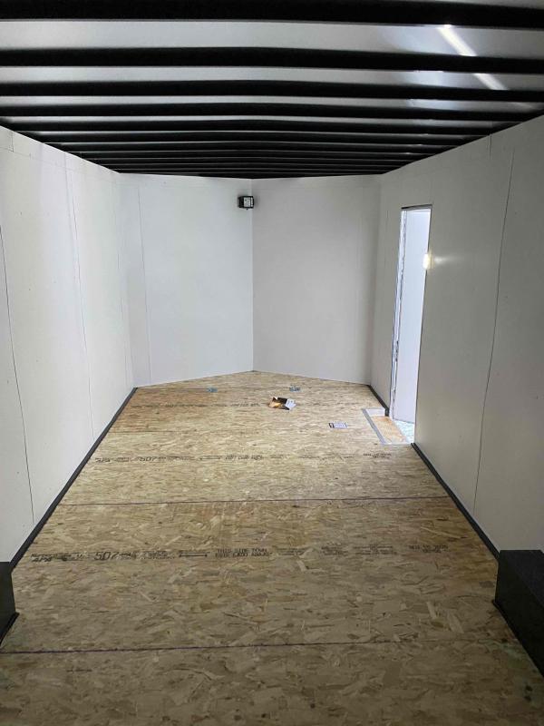 2021 AERO 8.5X24TA52 WHITE Enclosed Cargo Trailer