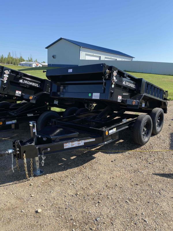 2021 Iron Bull 60X10 TA35K Dump Trailer