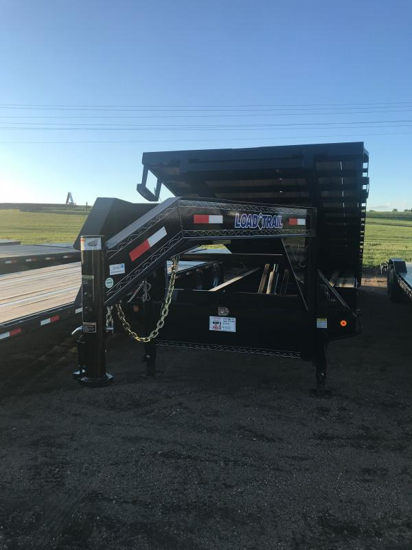 2020 Load Trail Gooseneck Equipment Tilt Deck 102 x 26 Equipment Trailer