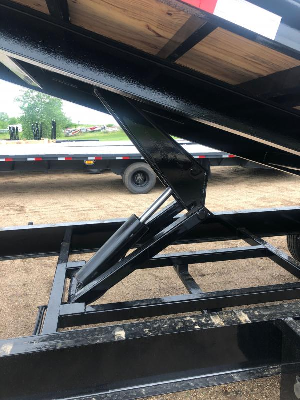 2020 Load Trail Gooseneck Equipment Tilt Deck 102 x 26 Equipment Trailer