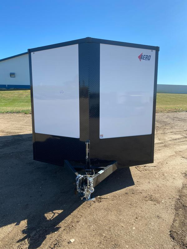 2021 AERO 8.5X20TA52 WHITE BLKOUT Enclosed Cargo Trailer