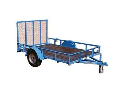 2020 Performance Trailers SA7710 Utility Trailer
