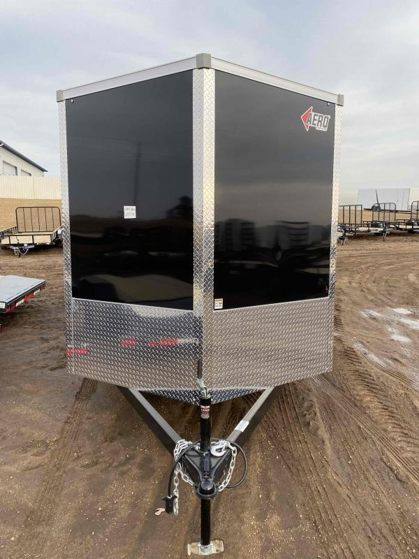 2021 AERO 7X14TA35 BLK Enclosed Cargo Trailer