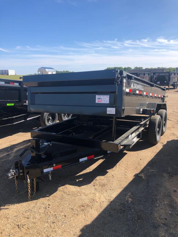 2021 IRON BULL DUMP TRL 83X14 Dump Trailer