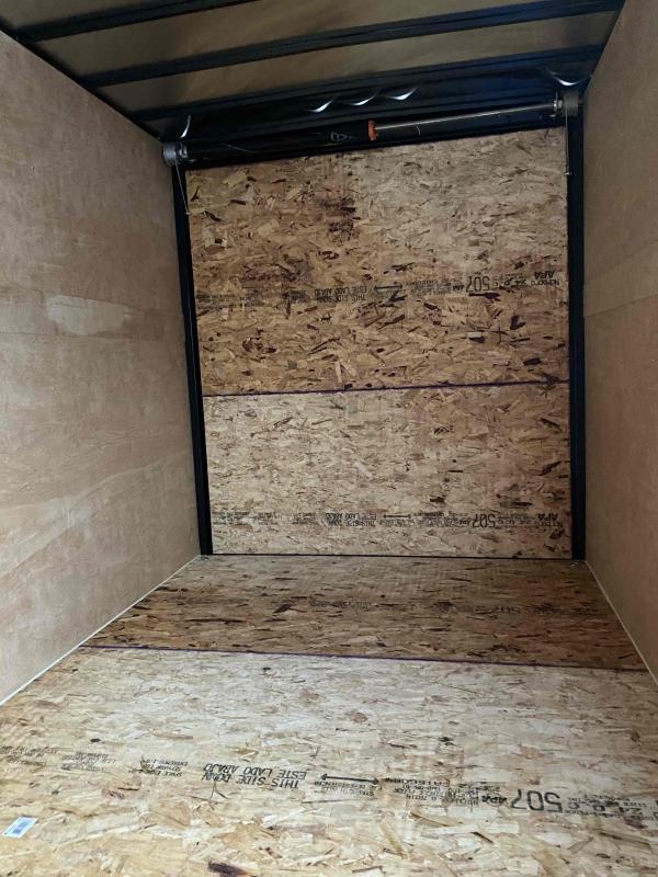 2021 AERO 7X14TA35 UTV BLK Enclosed Cargo Trailer