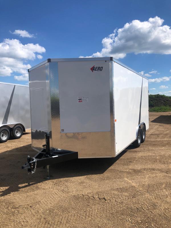 2020 AERO 8.5X16 TA52 Enclosed Cargo Trailer