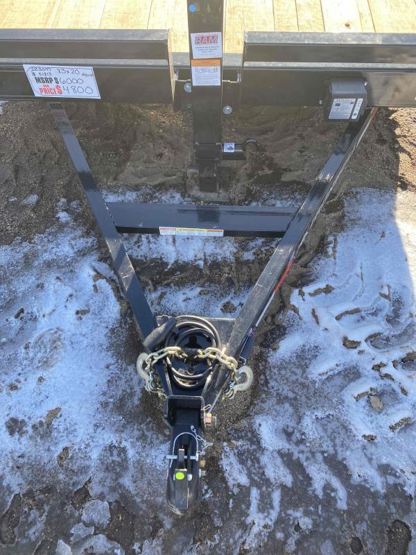 2021 Iron Bull 83X22 Equipment Trailer