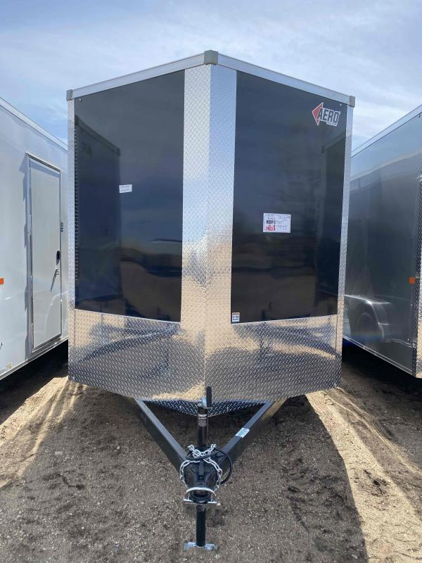 2021 AERO 7.5X16TA35 UTV BLK Enclosed Cargo Trailer