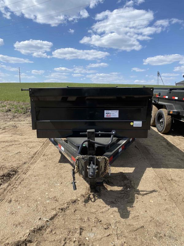 2021 Iron Bull 83X16 Dump Trailer