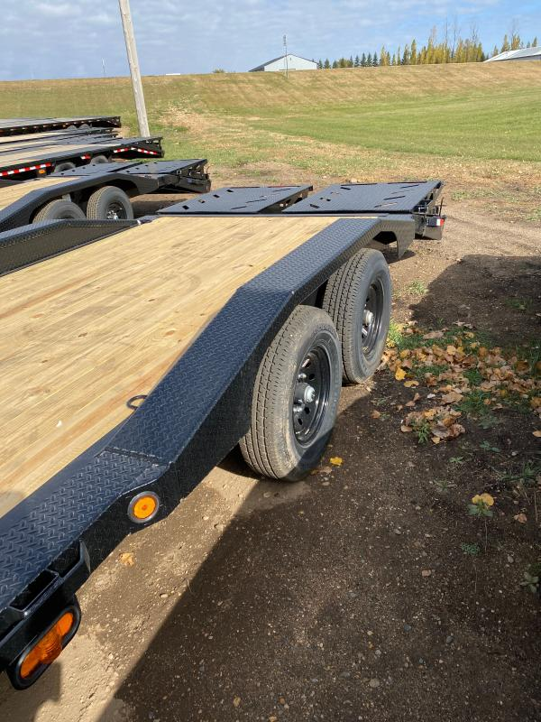 2021 Iron Bull 102X24TA GOOSE Equipment Trailer
