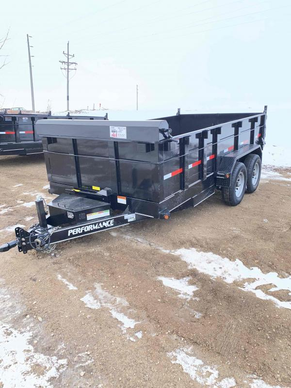 2020 Performance Trailers 83X14 HYDRUALIC DUMP SPECIAL Dump Trailer