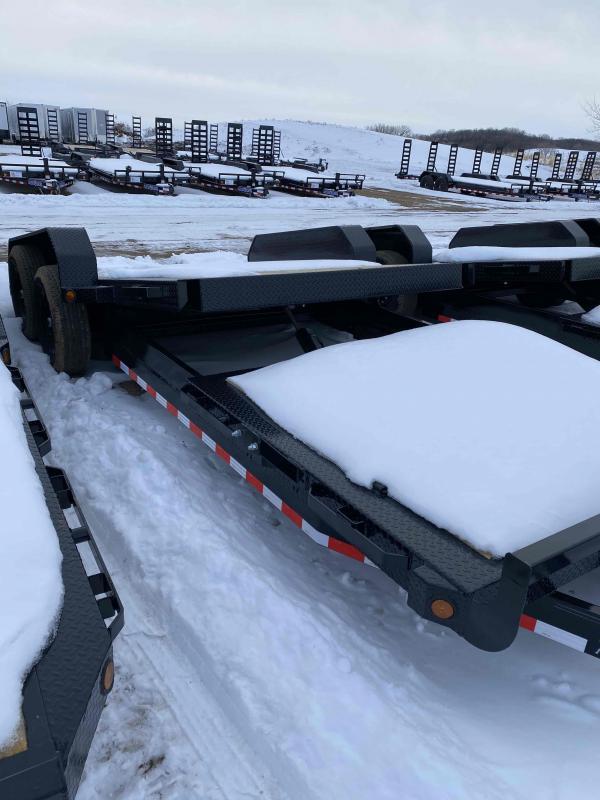 2021 Iron Bull 83X22 TILT EQUIP LOWPRO Equipment Trailer