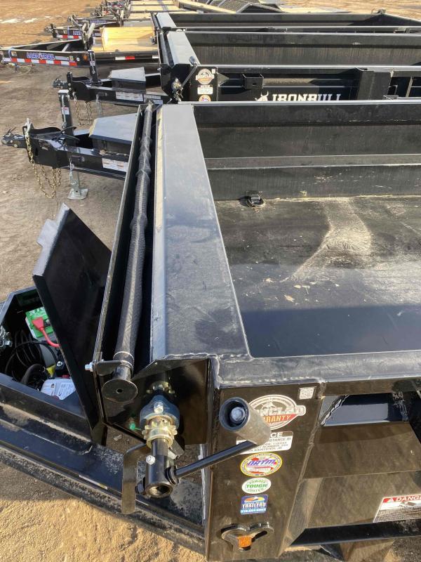 2021 Iron Bull 60X10 SCISSOR Dump Trailer