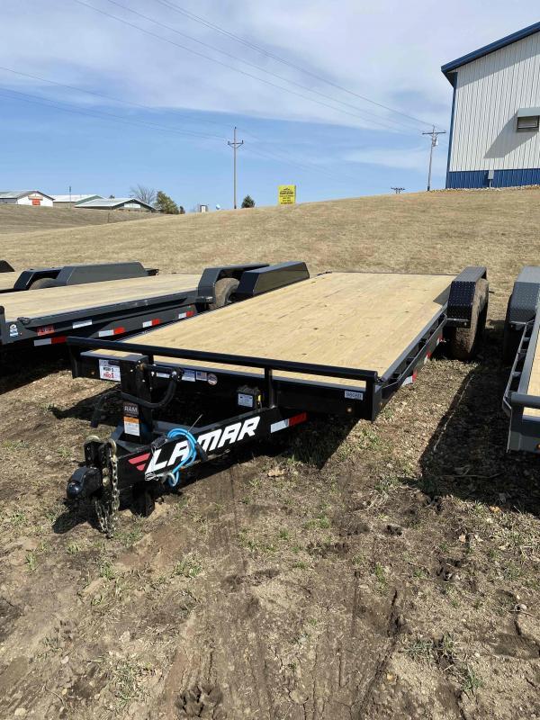 2021 Lamar Trailers 83X20 Equipment Trailer
