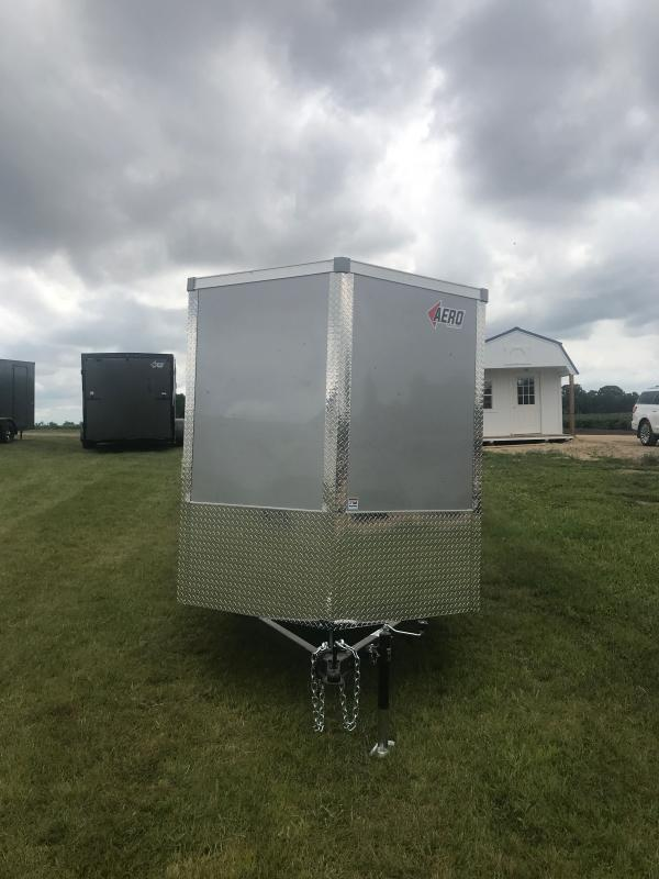 2021 6X12SA SILVER Enclosed Cargo Trailer