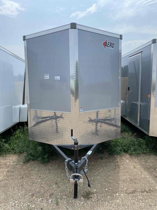 2022 AERO 6X12SA SLV Enclosed Cargo Trailer