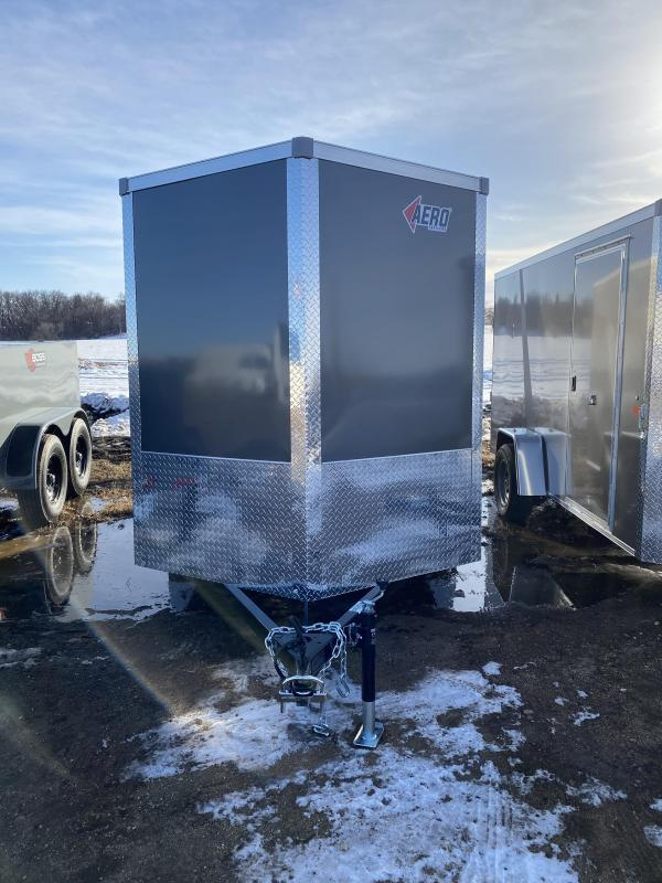 2021 AERO 6X14SA CHARCOAL Enclosed Cargo Trailer