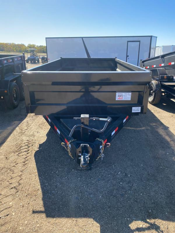 2021 Iron Bull 83X14TA DUMP LOW PRO Dump Trailer