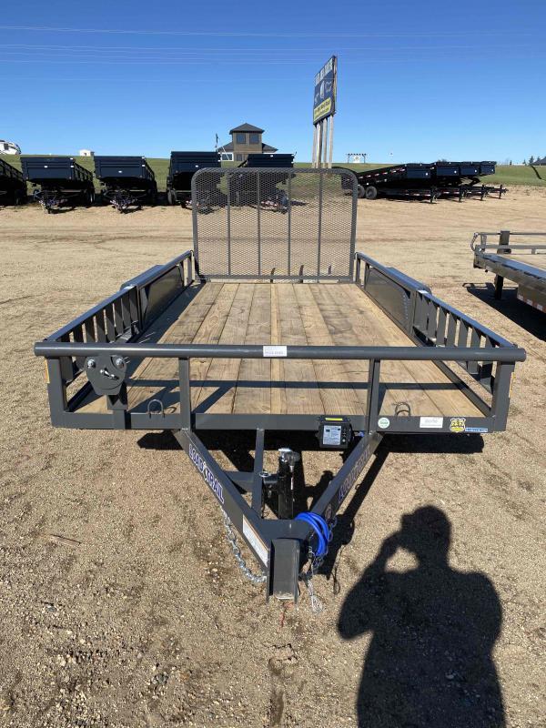 2022 Load Trail 77X14 TA35 Utility Trailer