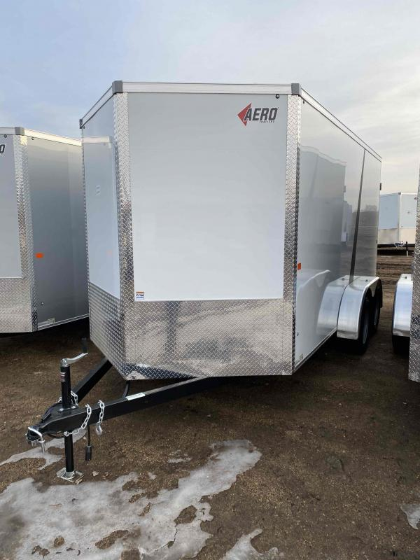 2021 AERO 7X14TA35 WHT Enclosed Cargo Trailer