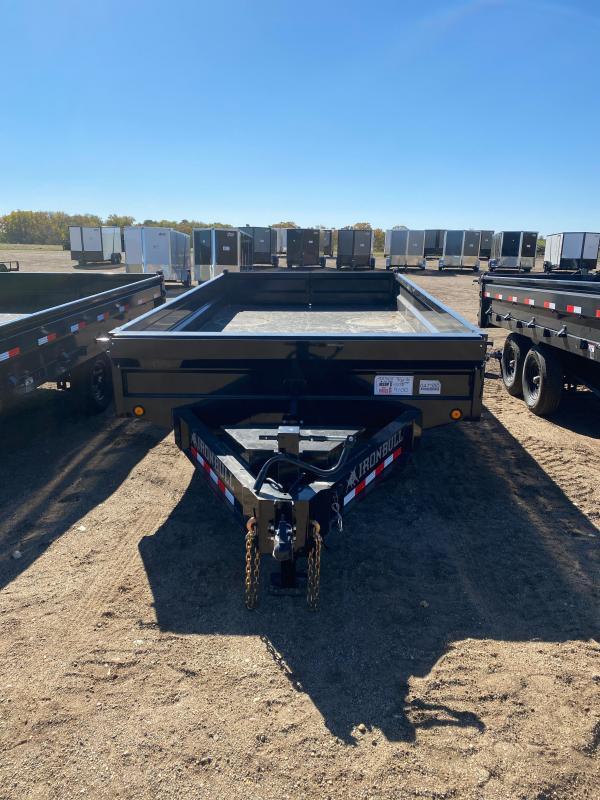2021 Iron Bull 96X16 TA DUMP DECK-OVER Dump Trailer