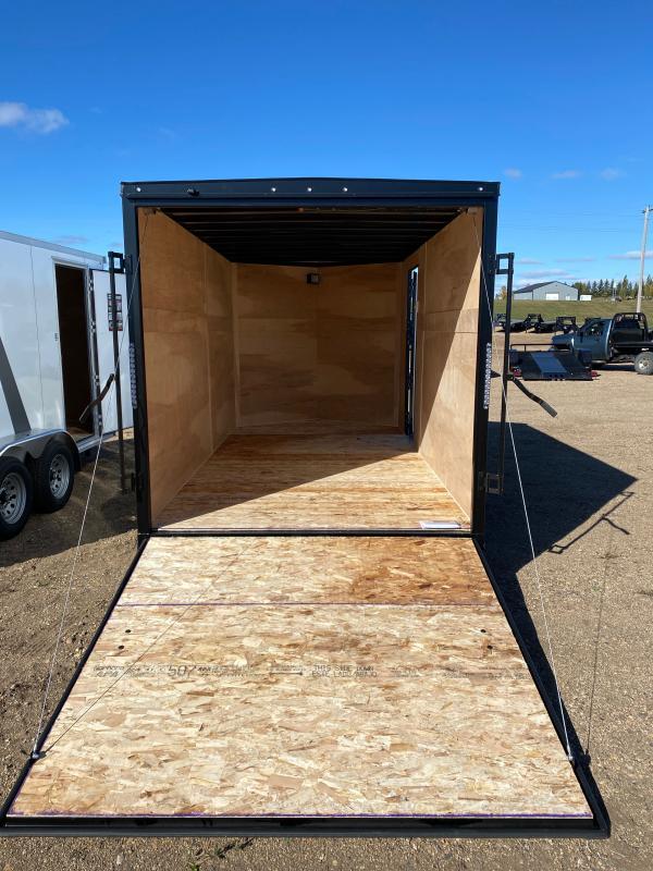 2021 AERO 7X14TA35 WHITE BLKOUT Enclosed Cargo Trailer
