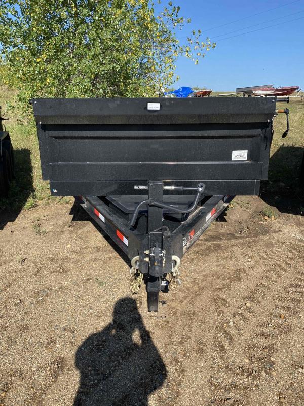 2021 Iron Bull 83X16 TA70 Dump Trailer