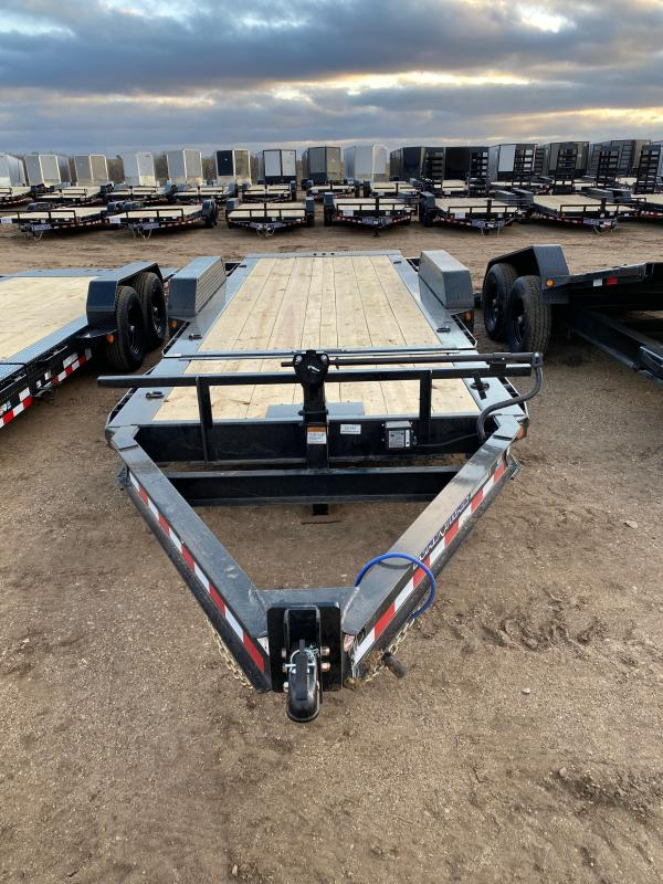 2021 Load Trail 83X20 TILT-N-GO Equipment Trailer