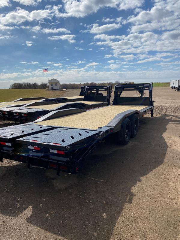 2021 Iron Bull 102X26TA GOOSE Equipment Trailer