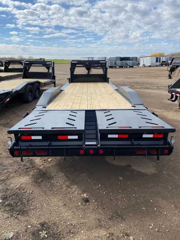 2021 Iron Bull 102X26TA GOOSE Equipment Trailer