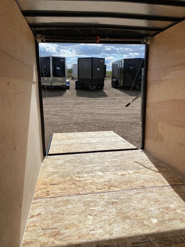 2021 AERO 6X12SA WHT Enclosed Cargo Trailer