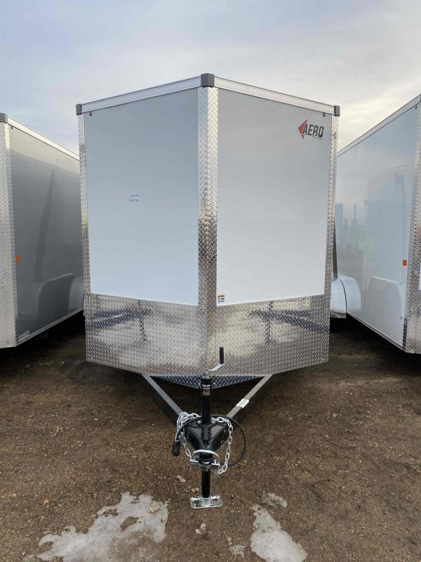2021 AERO 7X16TA35 WHT Enclosed Cargo Trailer