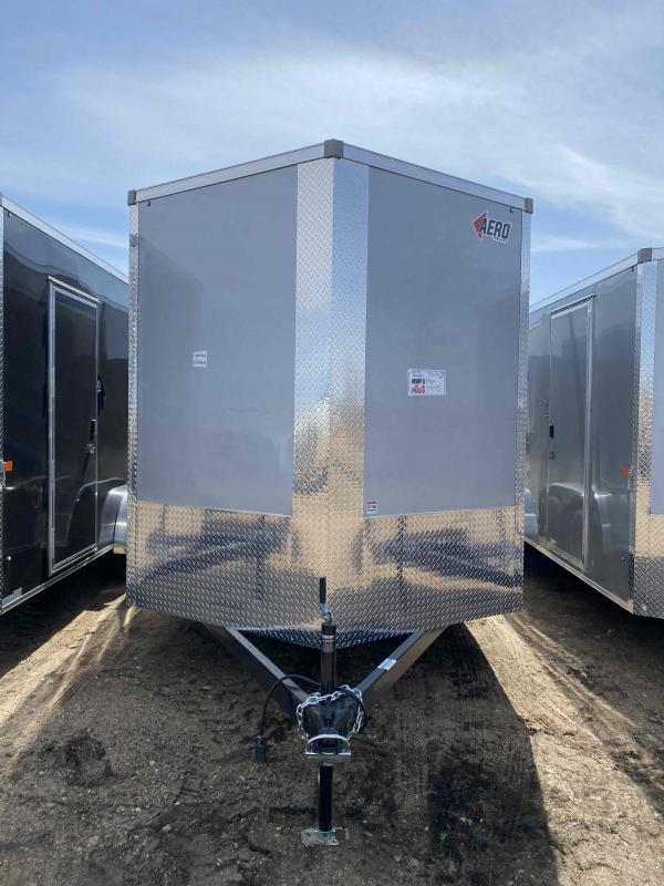 2021 AERO 7.5X16TA35 UTV SILVER Enclosed Cargo Trailer