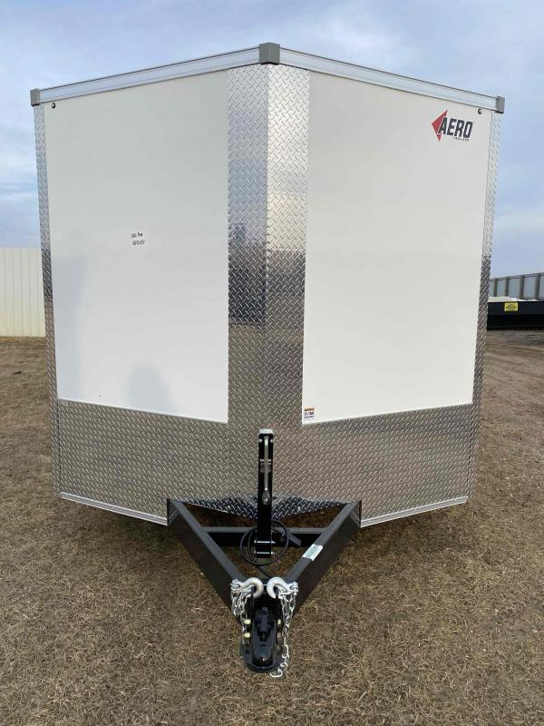 2021 AERO 8.5X28TA52 WHT Enclosed Cargo Trailer