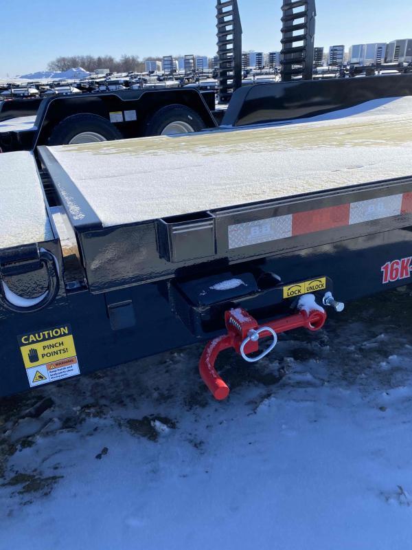 2021 B&B 83X16 - 6' SL Equipment Trailer