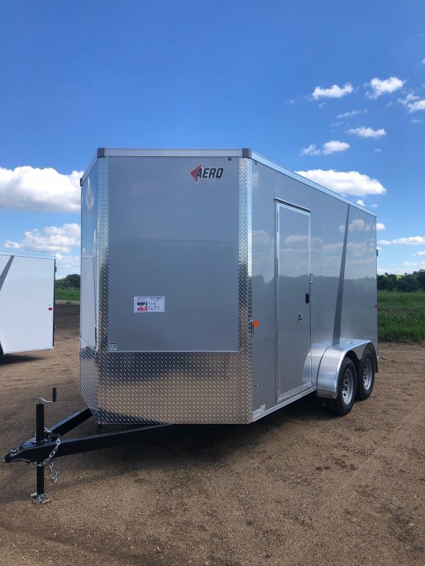 2021 AERO 7X14TA35 SILVER Cargo/Enclosed Trailer