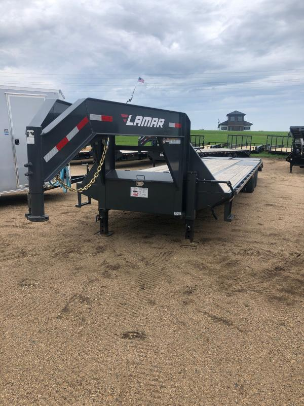 2020 Lamar Trailers 102X34 XD DECK-OVER 24K Flatbed Trailer
