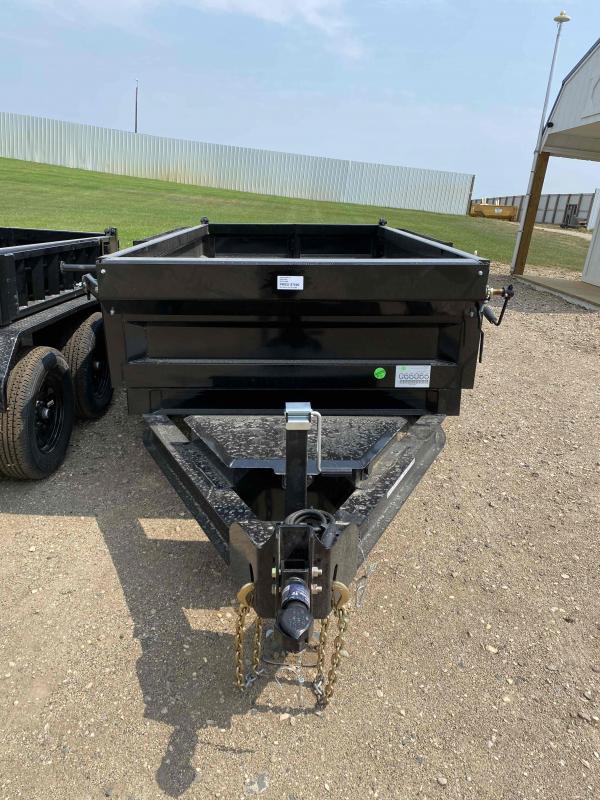 2021 Iron Bull 60X10 TA3.5K Dump Trailer
