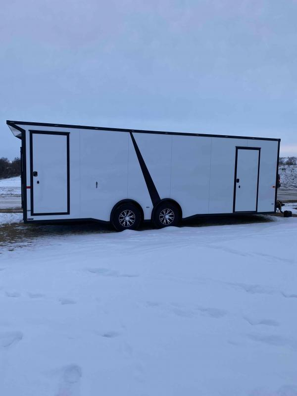 2021 AERO 8.5X24TA52 DELUXE CUSTOM Enclosed Cargo Trailer