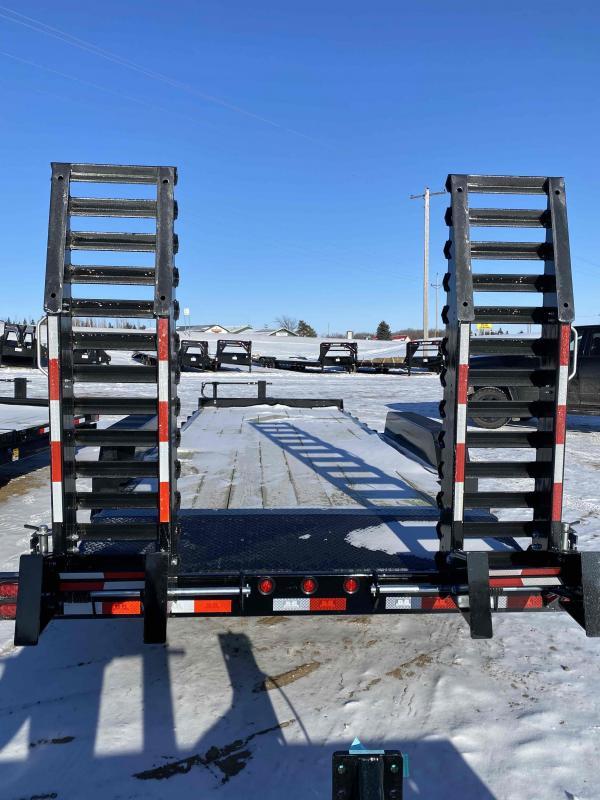 2021 B&B 83X18 Equipment Trailer