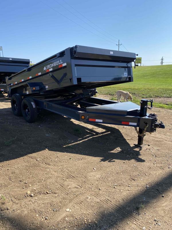 2021 Iron Bull 83X14 TA70 Dump Trailer