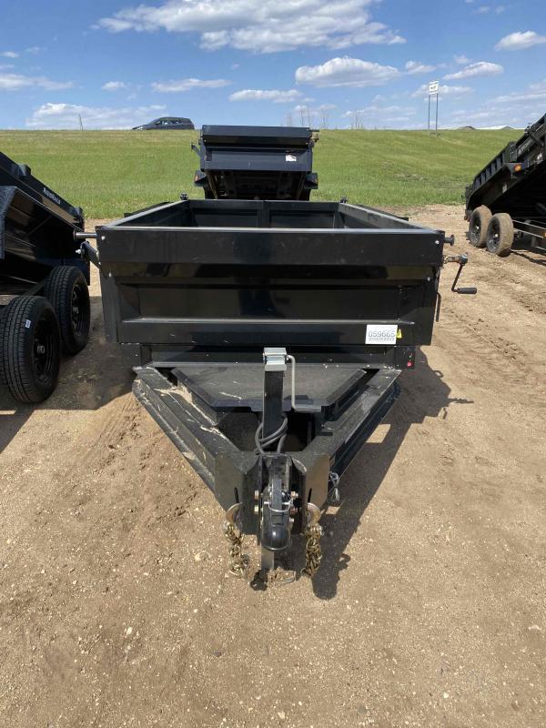 2021 Iron Bull 60X10 TA35 SCISSOR Dump Trailer