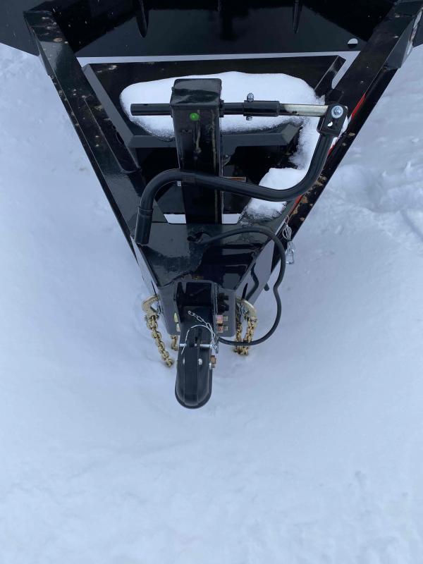 2021 Iron Bull 102X22 TILT DECK-OVER Equipment Trailer