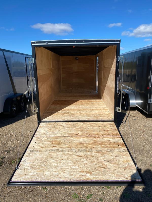 2021 AERO 7X18TA35 BLACK Enclosed Cargo Trailer