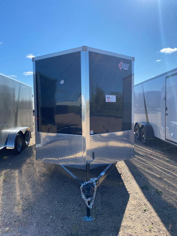 2021 AERO 7X18TA35 BLACK Enclosed Cargo Trailer
