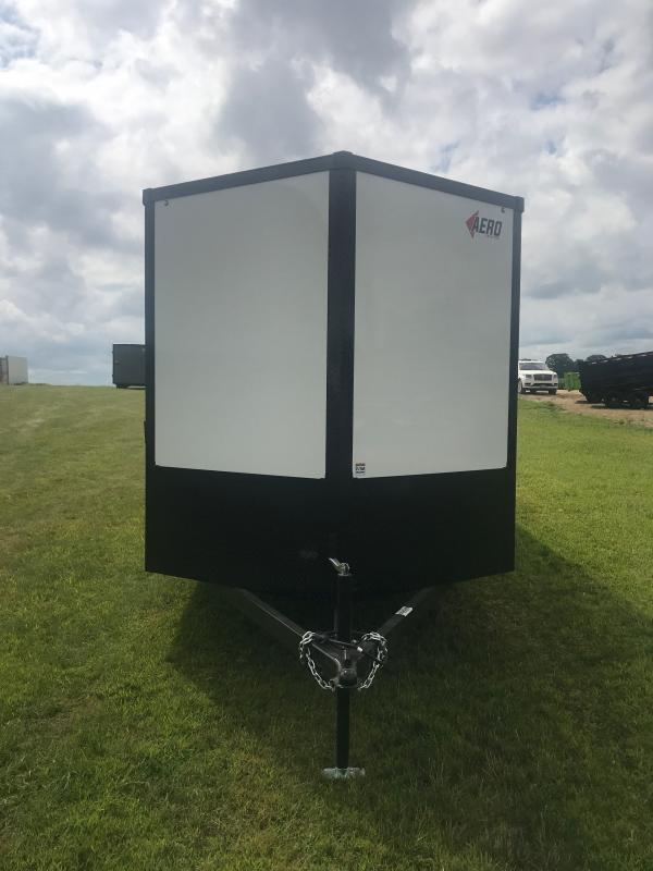2021 AERO 7X18 TA35 BLKOUT/ALUM WHLS Enclosed Cargo Trailer